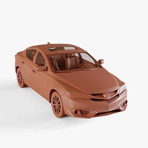 3D model acura ilx