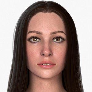 3D Woman Mia model