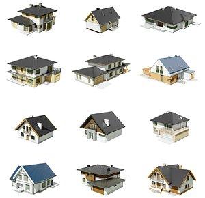 obj houses 01
