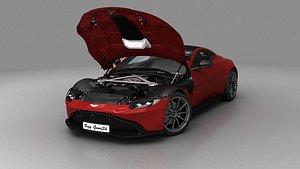 Aston Martin Vantage 2020 3D model