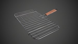 3D Grill Basket Barbecue Grill Rack model