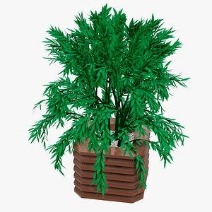 3D nature plant model