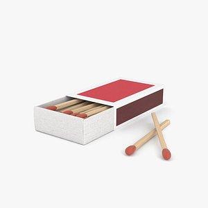 matchbox match box 3D model