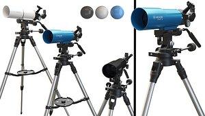 3D model Meade Infinity 80mm Telescope
