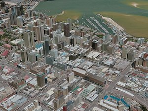 durban city 3D model