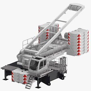 3D crane lr 1600 base model