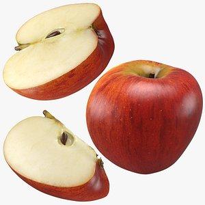 3D Apple Set model