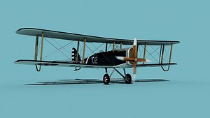 Airco DH-4 US Navy Trainer 3D model