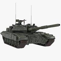 Russian Tank T 90 Green