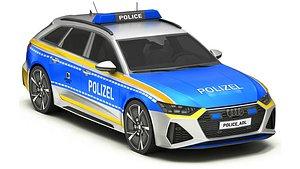 3D Police Car 12