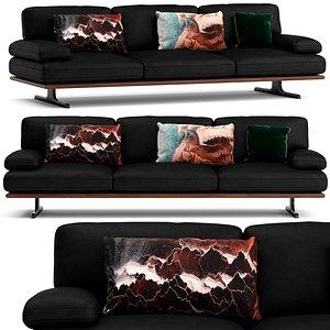 3D Roche Bobois Envergure sofa