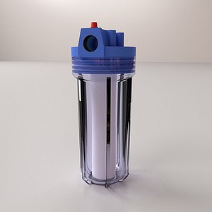 Water Filter Canister 3D model