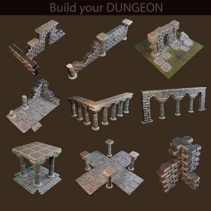 puzzles building 3D