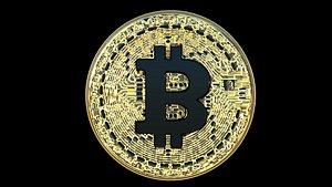 3D crypto bitcoin