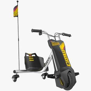 Razor Powerrider 360 Electric Tricycle 3D model