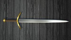 Medieval Classic Northern Sword -GoT Robb Stark's Sword model