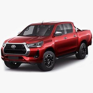 3D Toyota Hilux 2021 Double Cab model