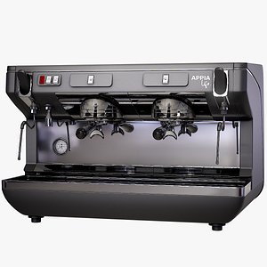 3D coffee machine appia model