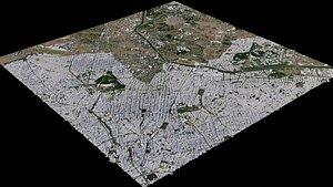 Sao Paulo - Brasil 3D model