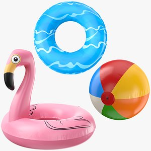 inflatable pool toy model