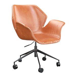 3D Zuiver Nikki Office Chair model