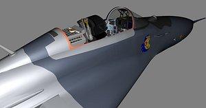 Cockpit Mig-29 3D model