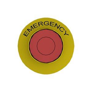 3D Emergency Button