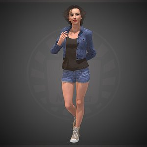 character people human 3D