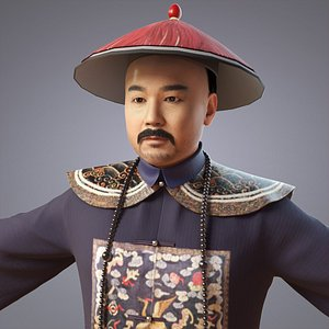 people china qing 3D model