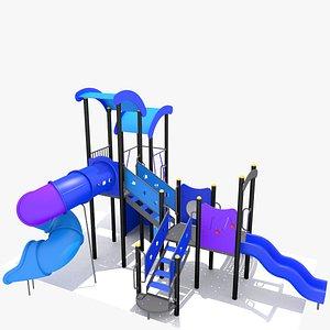 3D model Children Outdoor Playground