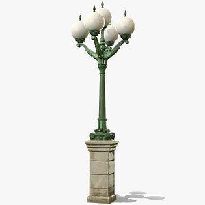 3D street light model