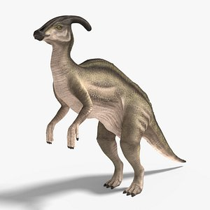 parasaurolophus blender v-multi 3D