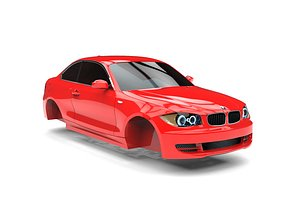 3D BMW 1 Series Coupe 2008