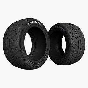 3D whell tire model