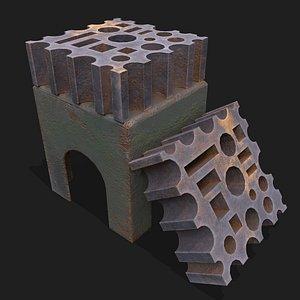 blacksmith yorkshire swage block 3D