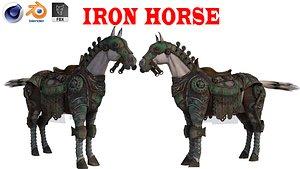 Iron Horse 3D model