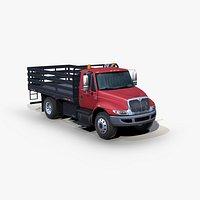 International DuraStar 4300 flatbed truck