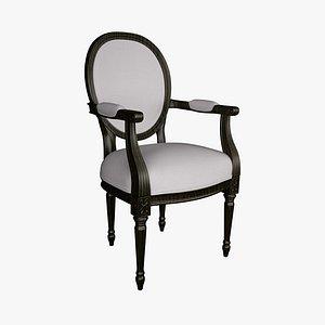 3D chair style le model