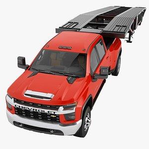 3D Chevrolet Silverado 3500 HD 2021 09