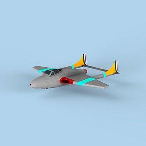 3D aircraft air model