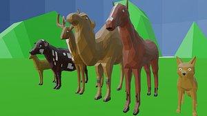 animal lowpay 3D