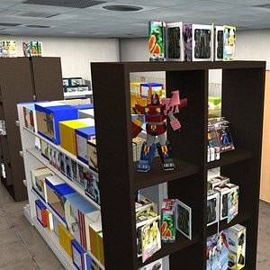 figure shop 3D model