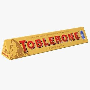 Toblerone Milk Chocolate Package 3D model