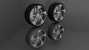 Wheels Audi RS5 3D