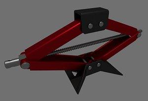 manual jack 3D
