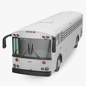 Thomas Saf T Liner Prison Transport Bus 3D model