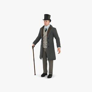 Victorian Man model