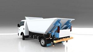 Mini Garbage Truck 3D