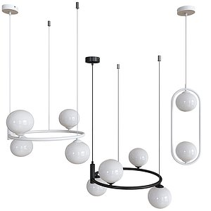 chandelier hanging ceiling lamp 3D