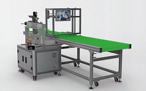 Automatic Weighing  Assembly Line model